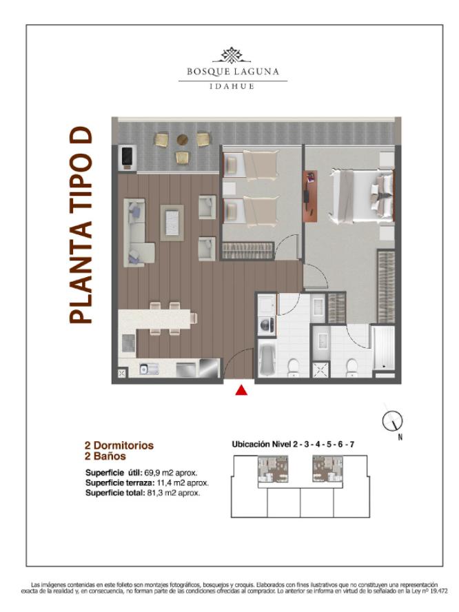 Superficie 90 m2